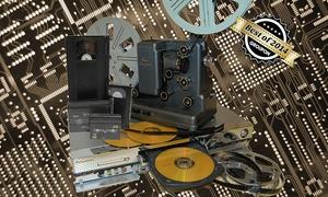 Berliner Bits: Digitalisierung von 3, 5 oder 15 Videokassetten bzw. Schmalfilmen bei Berliner Bits ab 6,90 € (bis zu 96% sparen*)