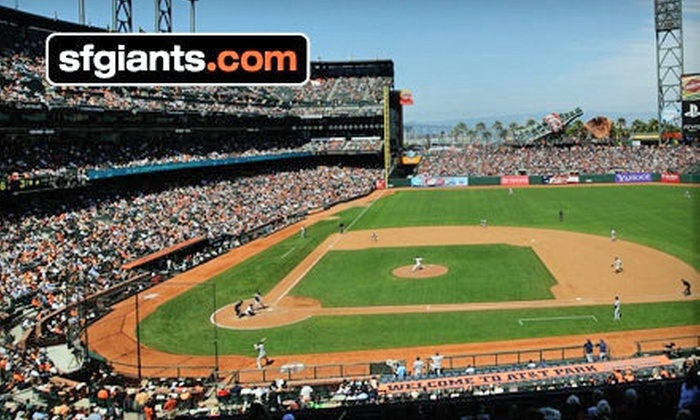 San Francisco Giants - South Beach: San Francisco Giants Game at AT&T Park (Up to 33% Off). Eight Options Available.