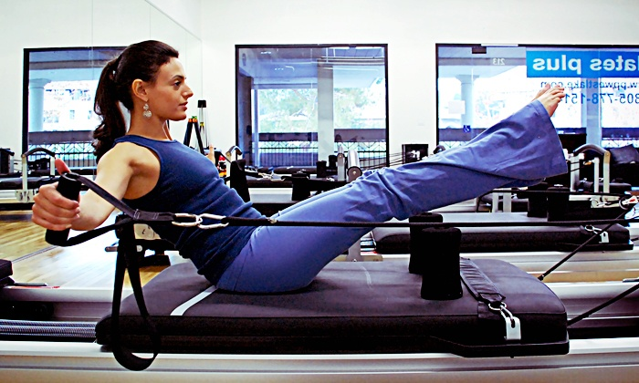 Pilates Plus WV - Thousand Oaks: Three or Six Pilates or Group Fitness Classes at Pilates Plus WV (Up to 72% Off)