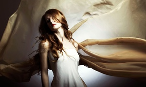 Maximus Spa Salon: Haircut, Style, and Luxury-Conditioning Treatment with Optional Partial Highlights (Up to 62% Off)