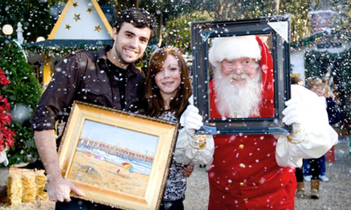 Winter Fantasy at the Sawdust Art & Craft Festival - Laguna Beach: $6 for a Winter Fantasy Outing for Two at the Sawdust Art & Craft Festival in Laguna Beach ($12 Value)