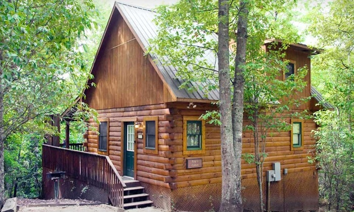 Mountain Vista Log Cabins - Bryson City, NC: Two- or Three-Night Stay for Four in a Log Cabin at Mountain Vista Log Cabins in North Carolina