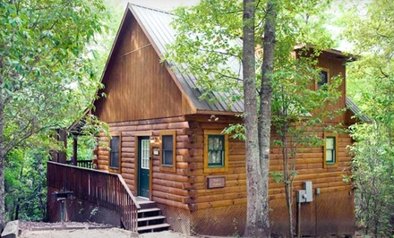 2-Night Stay for Four, Valid Sunday-Thursday - Mountain Vista Log Cabins in Bryson City