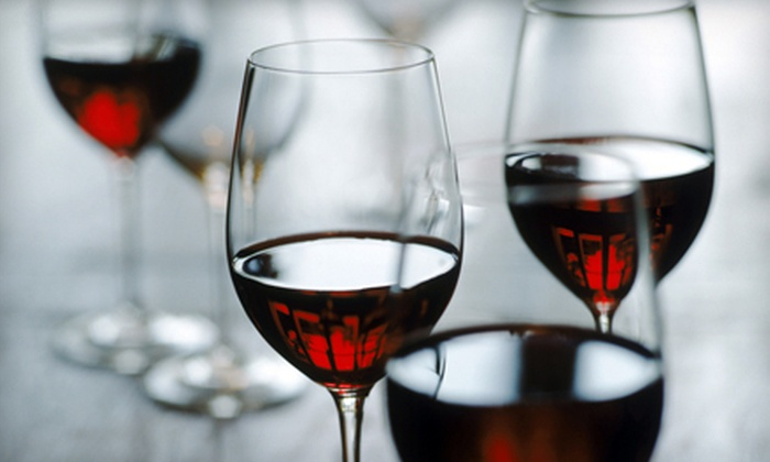 Crown Wine & Spirits - Multiple Locations: $15 for Wine Tasting for Two with Wineglasses and $5 Wine Credit at Crown Wine & Spirits ($30 Value)