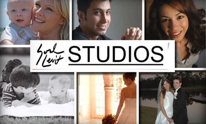 Sarah Levit Studios - Bellaire: $65 for a One-Hour Photo Shoot and Four Print-Quality Digital Images from Sarah Levit Studios