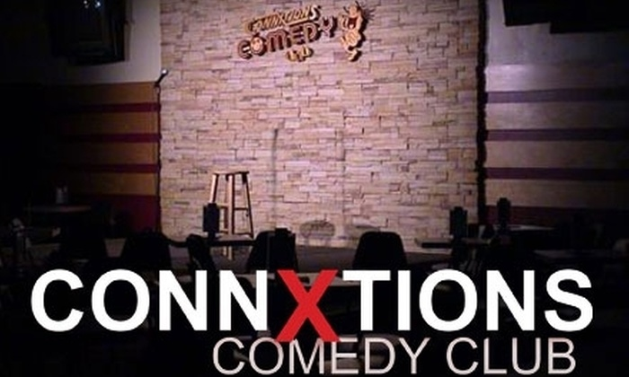 Connxtions Comedy Club - Southwyck: Up to 64% off Tickets and Appetizer at Connxtions Comedy Club. Choose Between Two Options.