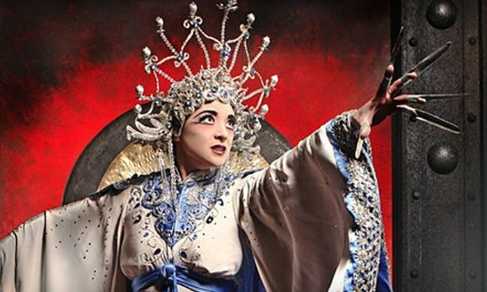 """Pittsburgh Opera - Pittsburgh: One Ticket to """"Turandot"""" at Pittsburgh Opera (Up to $150.57 Value). Choose From Two Dates and Five Seating Options."""