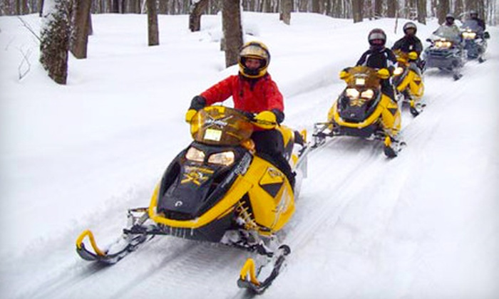 Ride On Rentals - Collingwood: Snowmobile Rental Packages for Up to Two During the Week or Weekend from Ride On Rentals in Collingwood (Up to Half Off)