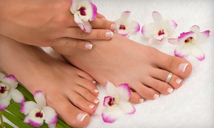 Salon Amarti - Old Town: $35 for Manicure and Pedicure at Salon Amarti ($78 Value)
