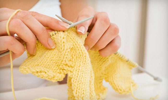 Hillcreek Yarn Shoppe - First Ward: Two Beginning Knitting Classes or $15 for $30 Worth of Yarn at Hillcreek Yarn Shoppe