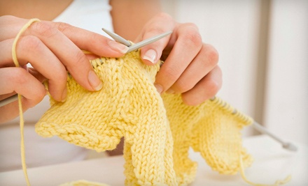 2 Beginning Knitting Classes with Supplies (a $50 value) - Hillcreek Yarn Shoppe in Columbia
