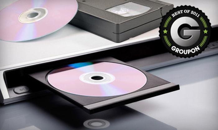 Transfer Me to DVD - Johnston Corners,Southwyck: $45 for $100 Worth of VHS-to-DVD Transfers at Transfer Me to DVD