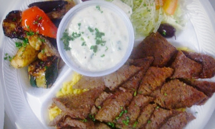 Zorba the Greek - Thornhill: $10 for $20 Worth of Greek Fare and Drinks at Zorba the Greek