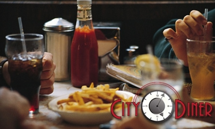 City Diner - Spenard: $10 for $20 Worth of American Fare and Drinks at City Diner
