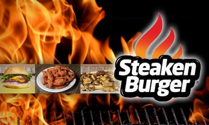 SteakenBurger - North Mountain: $4 for $8 Worth of Casual Fast Fare from SteakenBurger