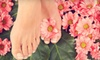 Tangles Aveda Salon and Spa - Pheasant Branch: Winter Pedicure or Winter Pedicure with Polish at Tangles Salon & Spa in Middleton (Up to 55% Off)