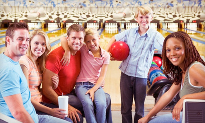 Georgetown Bowl - Lake Forest: Two-Hour Bowling Package for Up to 6 or Up to 12 with Lane and Shoe Rental, Pizza, and Soda at Georgetown Bowl (52% Off)