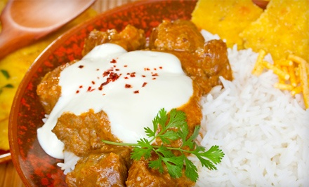 $40 Groupon to Lal Qila Restaurant - Lal Qila Restaurant in Palatine