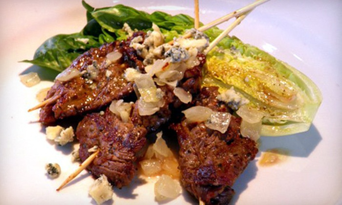 Bistro One West - St. Charles: Three-Course Prix-Fixe Dinner for Two or Four at Bistro One West in St. Charles