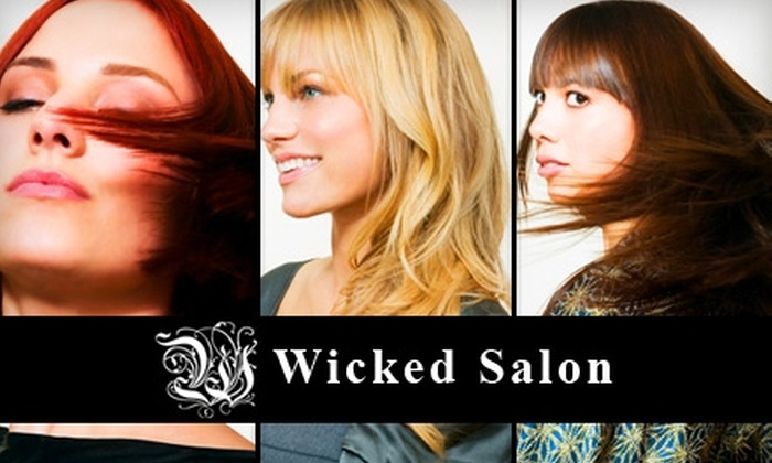Wicked Salon - Downtown: $40 for $80 Worth of Hair Services at Wicked Salon