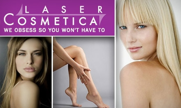 Laser Cosmetica - Logan Square: $179 for Three Hair-Removal Treatments at Laser Cosmetica ($750 Average Value)