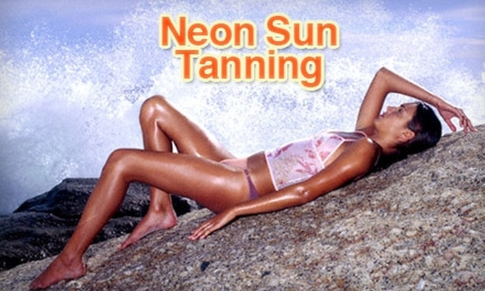 Neon Sun Tanning - Multiple Locations: $25 for One Month of Unlimited Tanning at Neon Sun Tanning