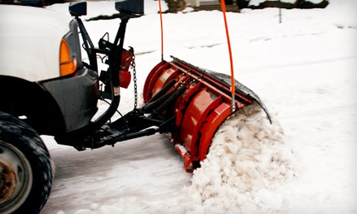 Hamilton County Services - Westfield: 1 or Up to 10 Snow-Removal Services for Small or Large Driveway from Hamilton County Services (Up to 60% Off)