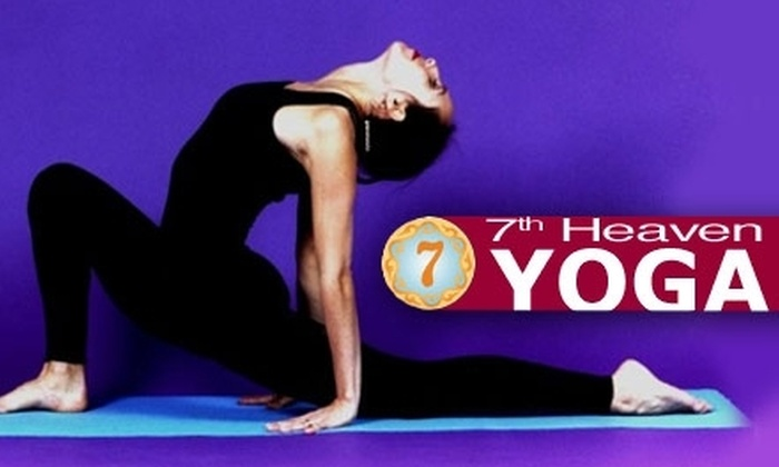 7th Heaven Yoga - Southwst Berkeley: $14 for Two Classes at 7th Heaven Yoga ($28 Value)