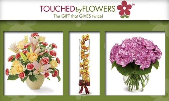 Touched By Flowers - Birmingham: $30 for $50 Worth of Floral Goods Plus Delivery from Touched By Flowers ($60 Value)
