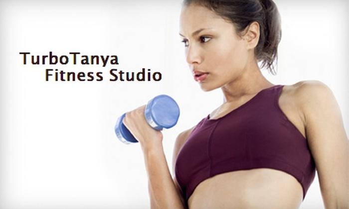 TurboTanya Fitness Studio - Alliance: $30 for a Five-Session Class Pass to TurboTanya Fitness Studio ($60 Value)