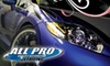 All Pro Detail - Multiple Locations: $95 for an Express Auto Detailing at All Pro Detail