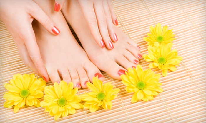 The Nail Cafe - Woodland Hills: $30 for Mani-Pedi at The Nail Cafe in Woodland Hills ($61 Value)