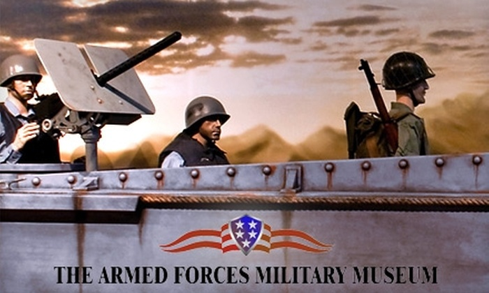 Armed Forces Military Museum - Clearwater: Armed Forces Military Museum in Largo. Choose Between Three Options