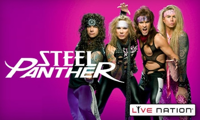 Steel Panther with The Better Death - Oak Lawn: $22 for Two Tickets to Steel Panther with The Better Death at the House of Blues ($45.48)