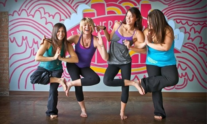 Super Yoga Palace - Deep Ellum: $19 for 10 Drop-In Yoga Classes ($100 Value) or $99 for Three Months of Unlimited Yoga ($270 Value) at Super Yoga Palace