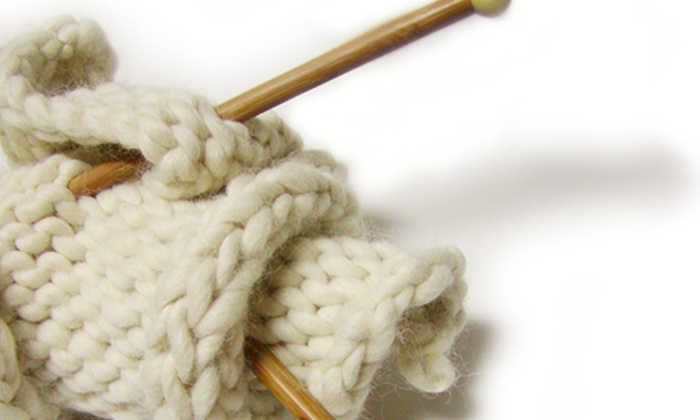 Great Balls of Yarn - Multiple Locations: $15 for a Beginning Knitting or Crocheting Class at Great Balls of Yarn ($35 Value)