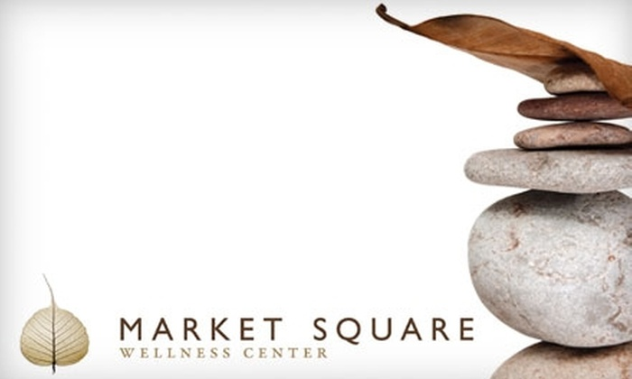 Market Square Wellness Center - Newington: $75 for a Restorative Retreat at Market Square Wellness Center ($165 Value)