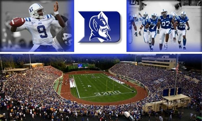Duke Football - Charlotte: $20 Football Ticket to Duke vs. Wake Forest on November 28