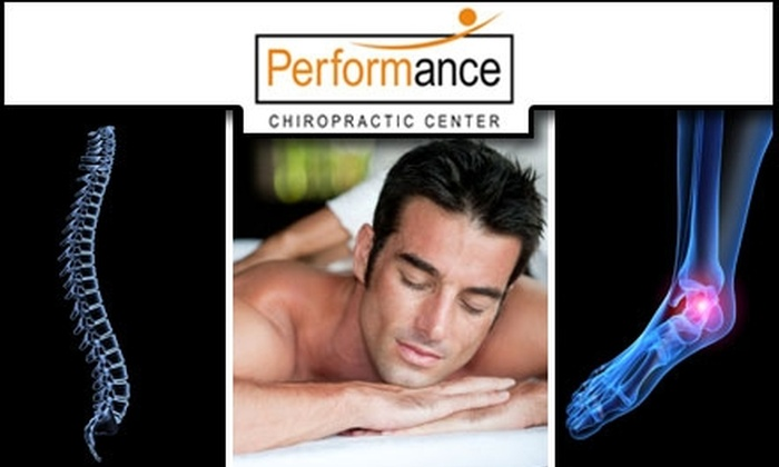 Performance Chiropractic Center - West Loop: $40 for Consultation, Exam, and Two Treatments at Performance Chiropractic Center