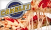 Cameli's Pizza - Old Fourth Ward: $10 for $20 Worth of Thin-Crust Pizza, Pasta, and More at Cameli's Pizza