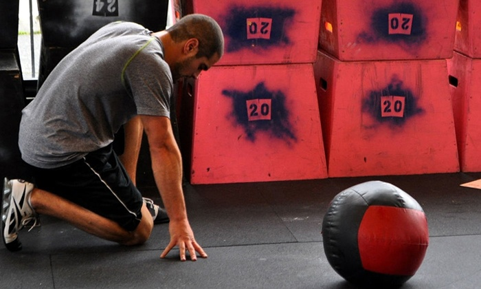 CrossFit Amped - Multiple Locations: One-Month CrossFit 101 Course with Option to Add Another Month of Classes at CrossFit Amped (Up to 43% Off)
