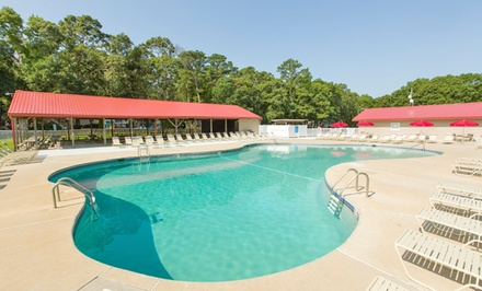 2- or 7-Night Stay for Two Adults and Two Kids 8 or Younger at Driftwood RV Resort & Campground in Clermont, NJ