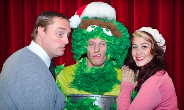 """The Off Broadway Theatre - Multiple Locations: Two Tickets to Laughing Stock Improv Show or """"The Grouch Who Stole Christmas"""" at The Off Broadway Theatre (Up to Half Off)"""
