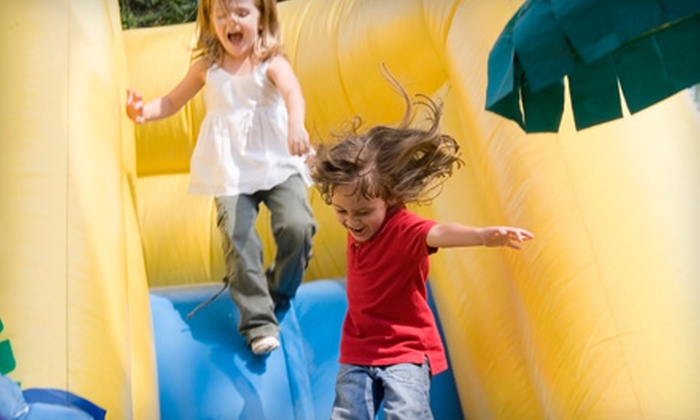 Celebrate Kids - Summerlin: One Hour of Superhero or Fairy-Tale Character Entertainment or All-Day Bounce-House Rental from Celebrate Kids