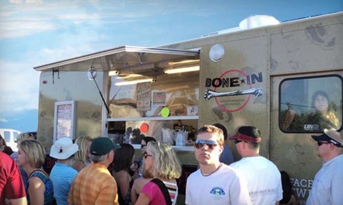 The Food Truck Rodeo - Edisto Court: $5 for Two Tickets to The Food Truck Rodeo at City Roots Farm ($10 Value)
