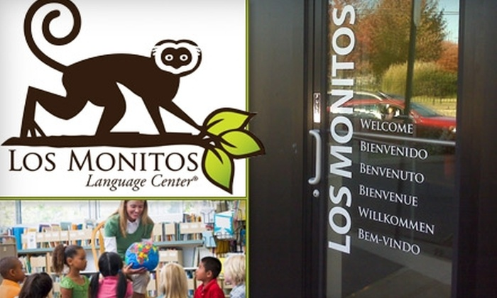 Los Monitos Language Center - Multiple Locations: $89 for One Week of Summer Language Camp for Kids at Los Monitos Language Center