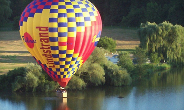 Skyward Balloons - Popcorn House: Hot Air Balloon Adventure on a Weekday Morning, Weekday Evening, or Fly Anytime from Skyward Balloons