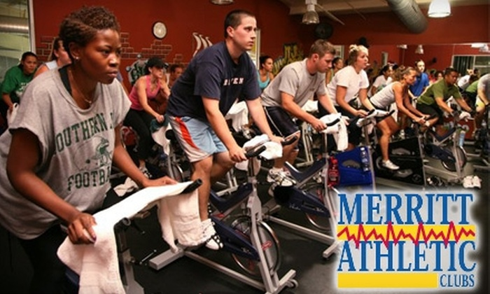 Merritt Athletic Club - Multiple Locations: $10 for 10 Fitness Classes at Any Merritt Athletic Club ($200 Value)