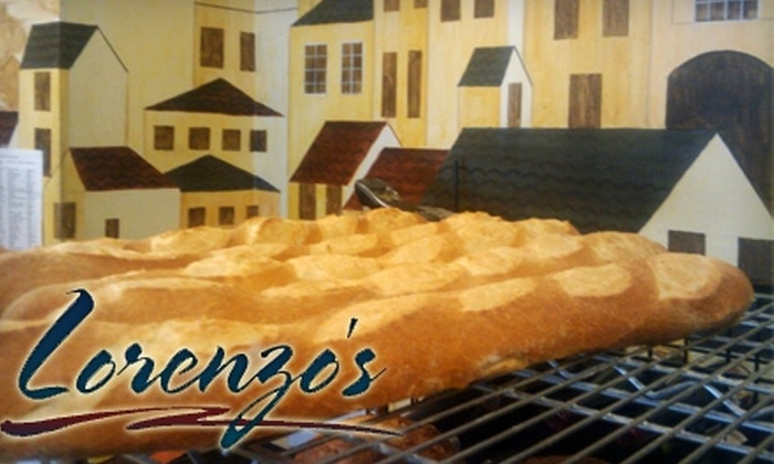 Lorenzo's Bistro and Bakery - Evansville: $20 for $40 Worth of American Bistro Fare at Lorenzo's Bistro and Bakery