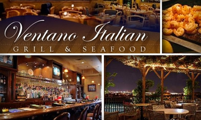 Ventano Italian Grill & Seafood - Henderson: $25 for $50 Worth of Romantic Italian Fare at Ventano Italian Grill & Seafood
